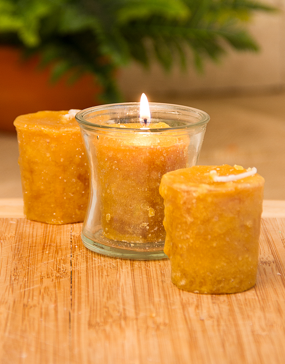 Ma & Pa Kettle Corn 3 Pack Votive Candles