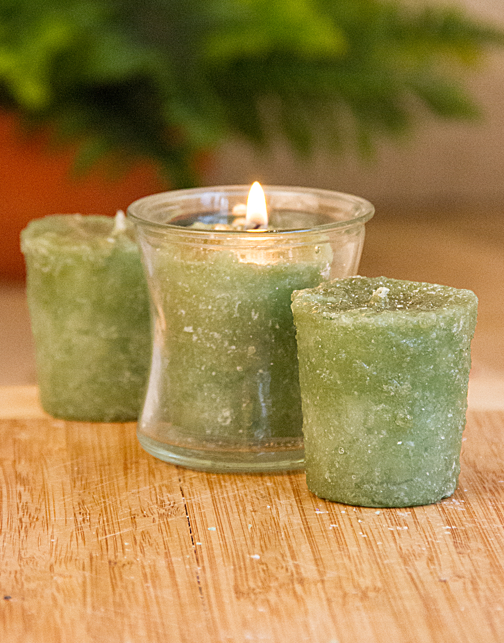Patchouli & Spice 3 Pack Votive Candles
