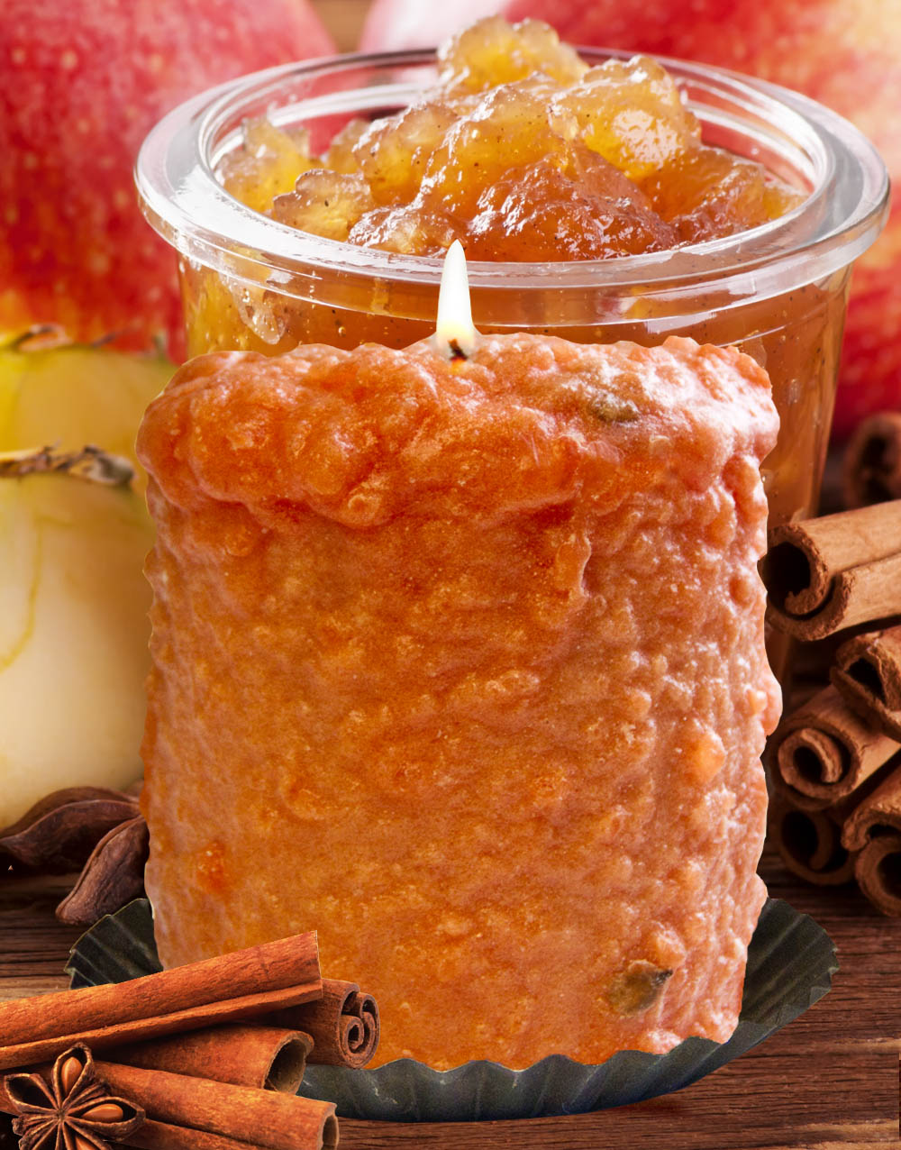 Cinnamon Chutney Hearth Candle