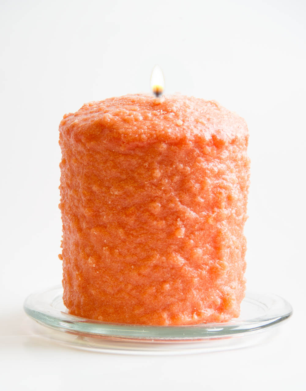 Orange Clove Hearth Candle