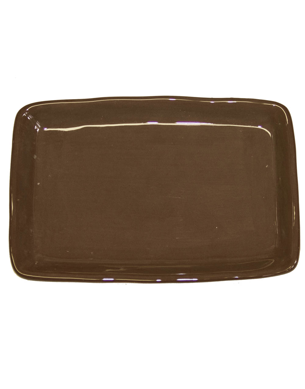 2-Wick Plate-Brown