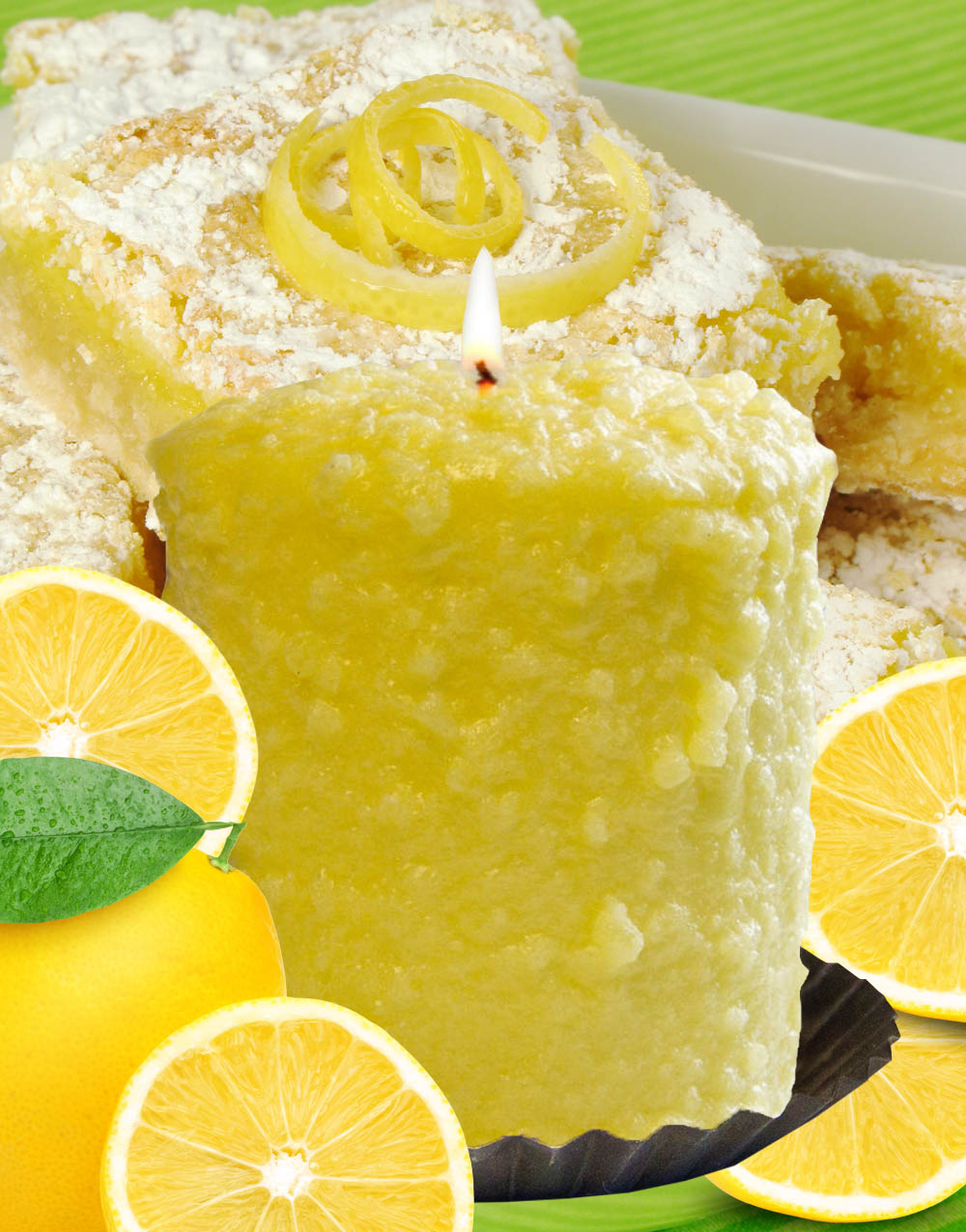 Lemon Bliss Hearth Candle