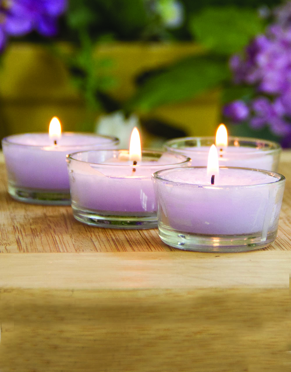 Lilac Blossom 4 Pack Tealights