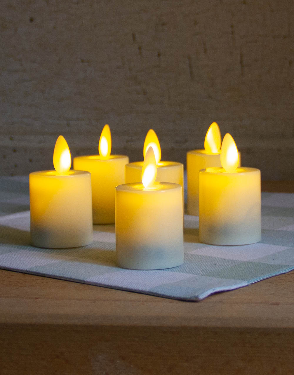 LED Flicker Votives with Remote