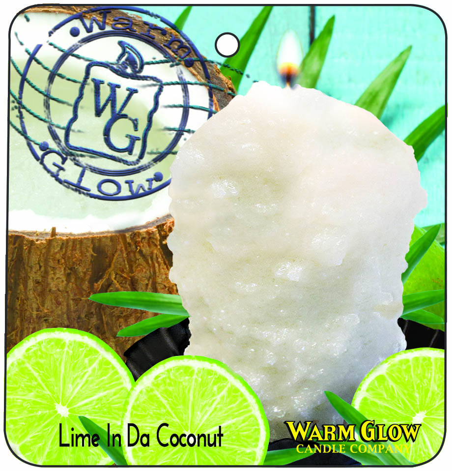 Car / Air Freshener Lime in da Coconut