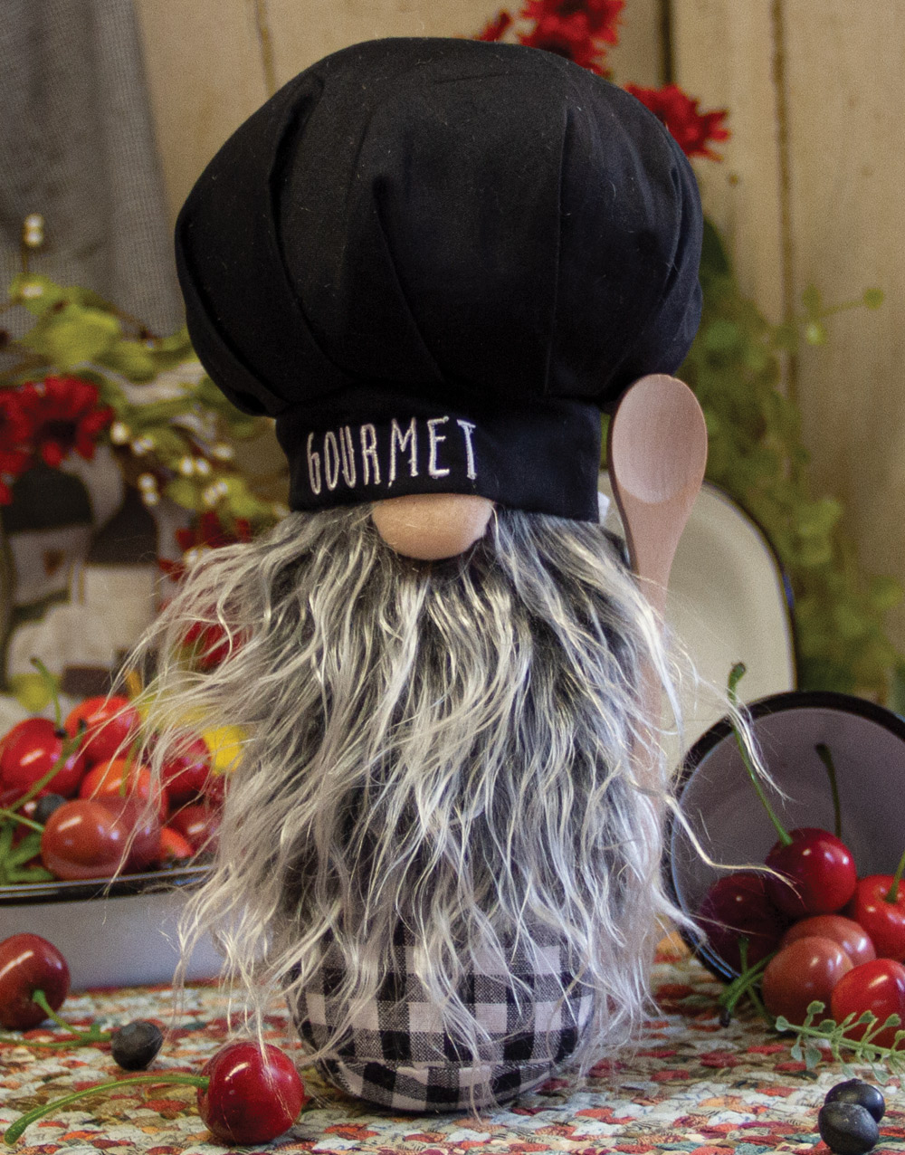 Chef Gnome – Gourmet, Black Hat