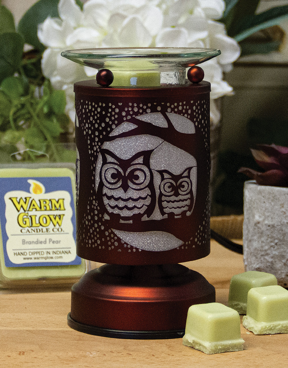 Ace Touch Sensor Lamp/Warmer – Owls