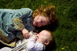 Sisters in The Rookery, Streatham Common photographed by Anna Hindocha/Warm Glow Photo