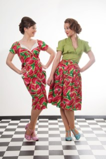 Models wearing clothes from Campbell Crafts Vinatge photographed by Anna Hindocha/Warm Glow Photo