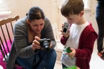 Warm Glow Photo family photography workshop at Lattjo Pop, Streatham.