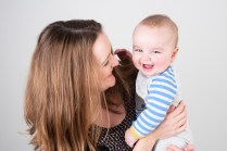 Baby boy and mother from studio shoot by Anna Hindocha/Warm Glow Photo