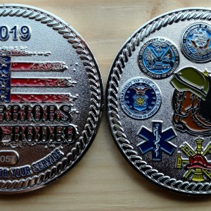WARodeo 2019 Member Coin