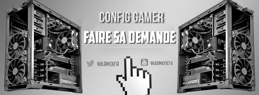 Config pc gamer personnalisée