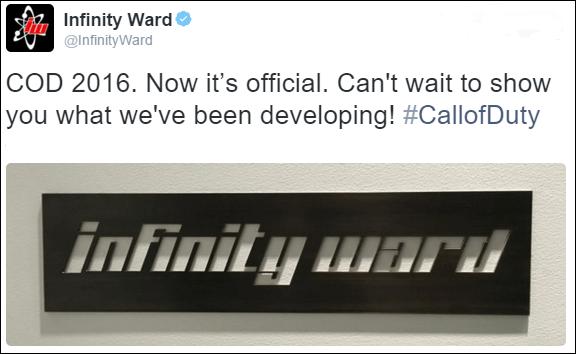 Call of duty ghosts II Tweet