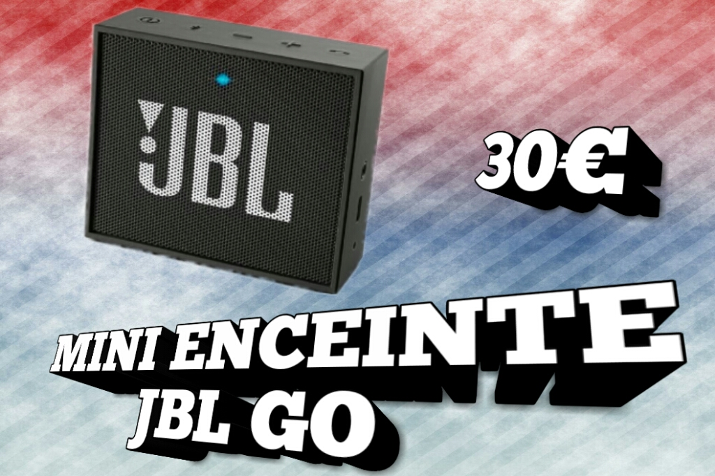 Présentation – Test : Mini enceinte JBL GO ! – Avis