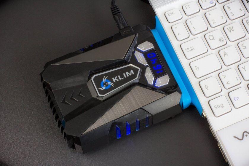 KLIM ventirad Refroidisseur PC portable Gamer