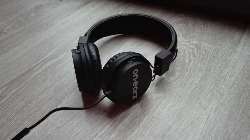 Casque On-earz noir 1 test