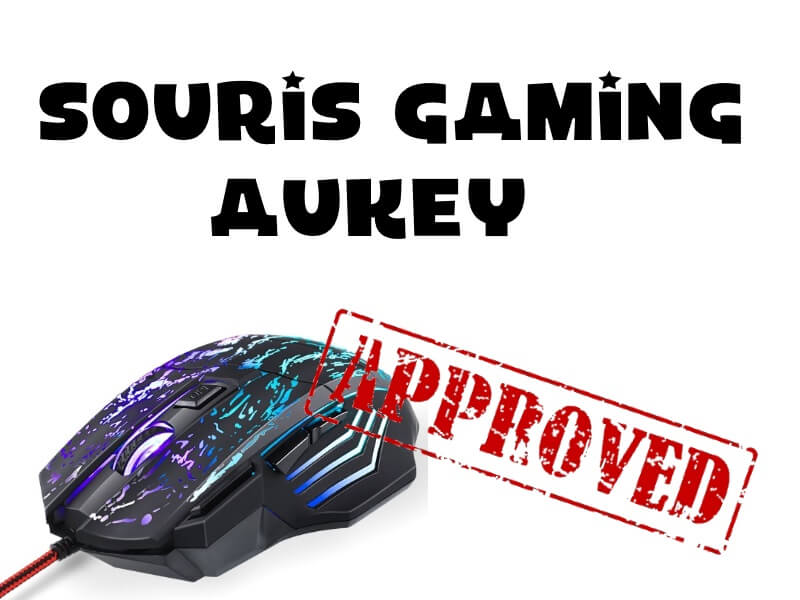 TEST – SPEED REVIEW de la souris Gaming AUKEY !