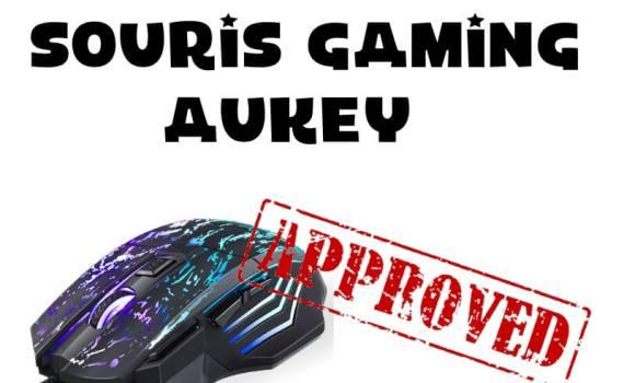 TEst souris Gaming Aukey