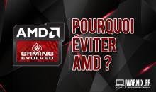 Pourquoi doit-on éviter les cartes graphiques AMD ? – Les points négatifs !