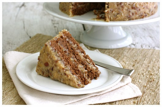 Ah, Cake!  Homemade German Chocolate Cake