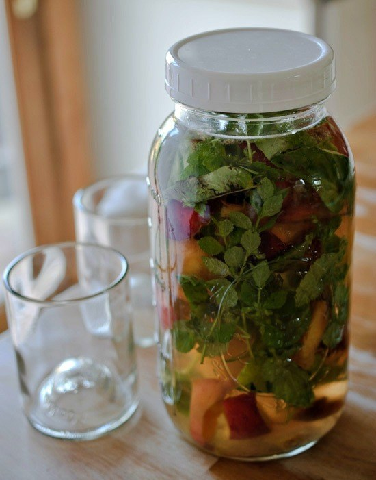 19_Peach and Herb Infused Water