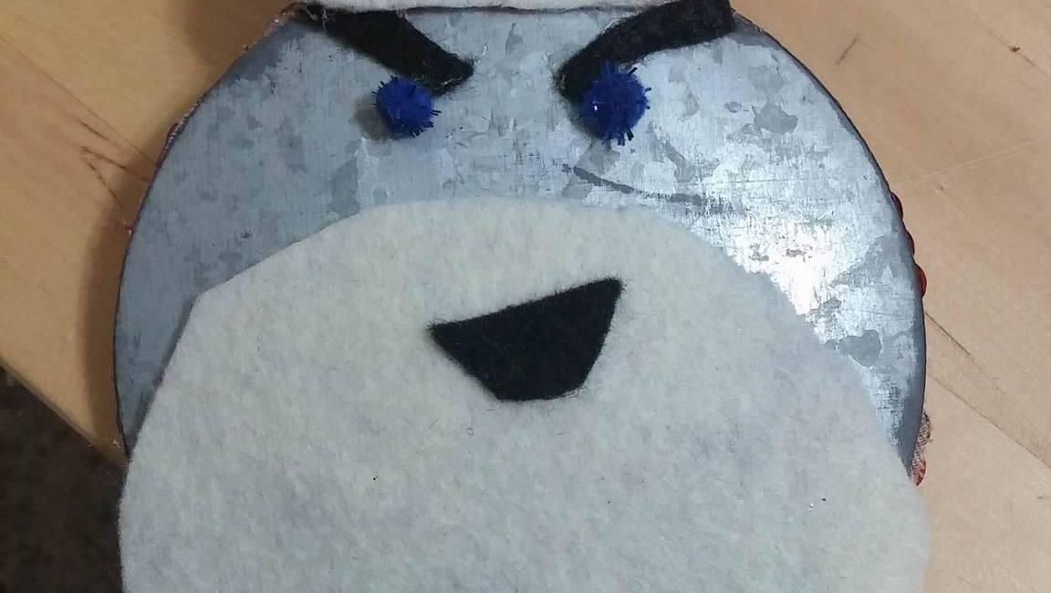 Merry December, Everyone! Robot Saint Klaus by Me