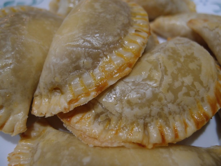 Pumpkin pie Cheesecake Empanadas