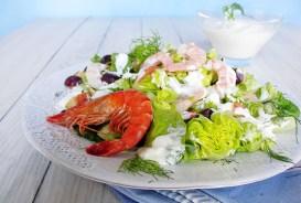 Salat: horizontal gespiegelt