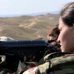 Islamic state faces staunch Female Kurdish Peshmerga fighters