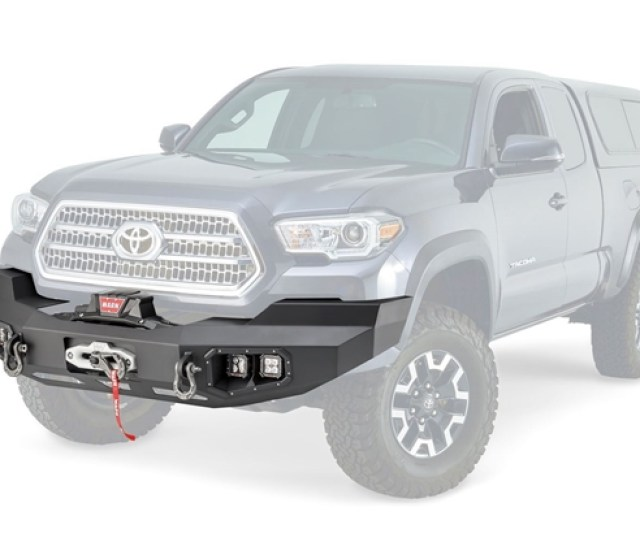 Picture Of Ascent Front Bumper For Toyota Tacoma 100927
