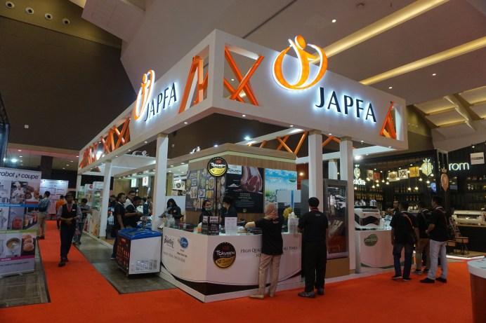 JAPFA hadir di Pameran Food & Hotel Indonesia 2019