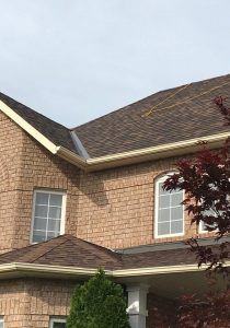 Warner roofing project
