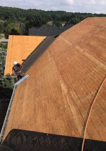 roof plywood replacement