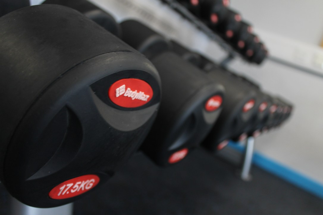 Warners Gym Dumbbells