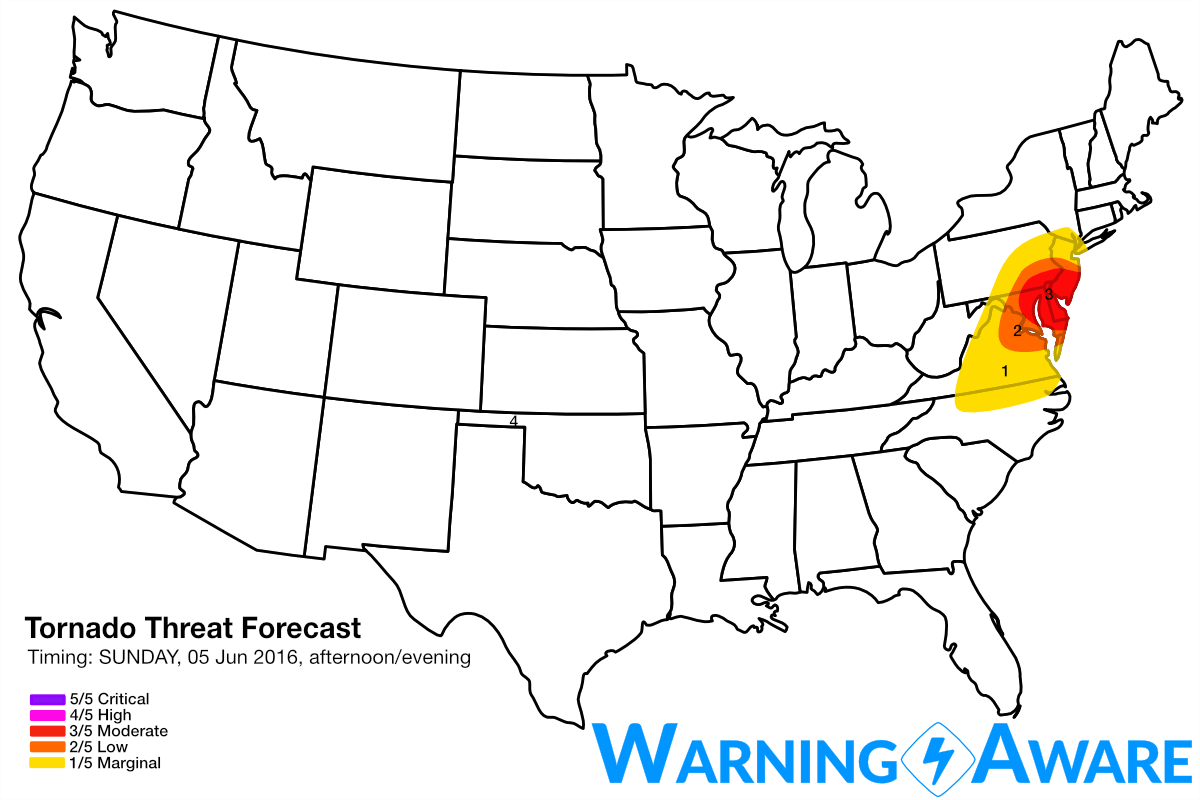 Severe Weather Outbreak Possible For Parts Of The Mid