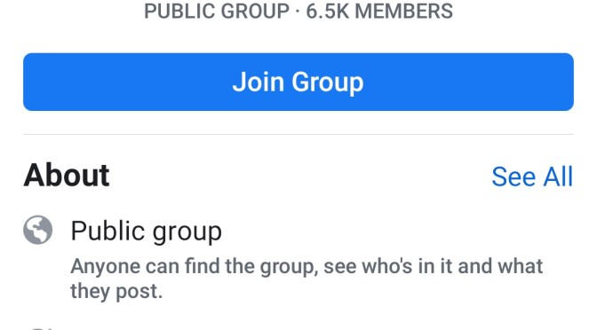 Facebook Pedophile group causes outrage