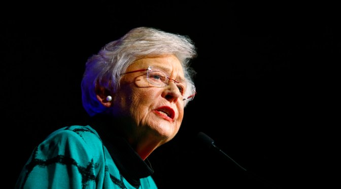 Did Kay Ivey just trash her political career?