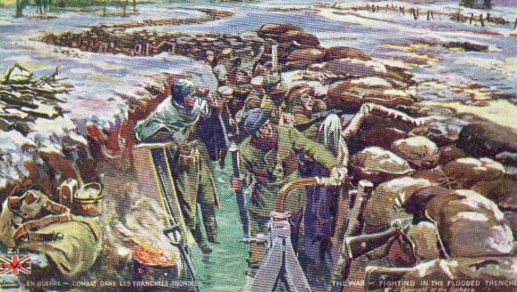 World War I Christmas Postcards War On The Rocks