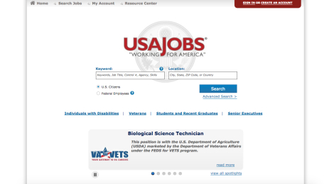 I'm No Andy Marshall, But I've Tackled USAJobs