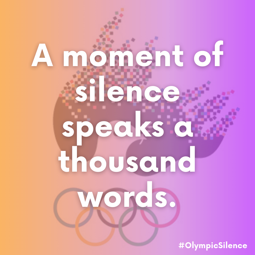 120 Organizations Worldwide Call for a Moment of Silence at the Olympics