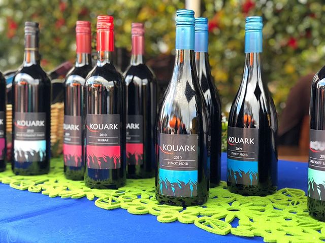 Local wine from Kouark. This wine is grown and made in Drouin south on the farm. Taste the rich fruit and exciting characters of wine! •Chardonnay •Pinot Noir •Cabernet Sauvignon •Shiraz •Wild Ferment Shiraz or Pinot Noir