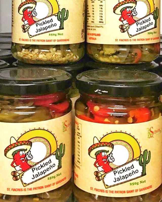 A winter favourite from St Fiacres kitchen is the Pickled Jalapeños. Maria says that this is the key ingredient to make Chilli Con Carne absolutely sing with flavour. Ask for the recipe on Saturday. If you need to cool your mouth try some cultured sour cream from @gippslandjersey – it's a match made in heaven!  @st.fiacresfarm