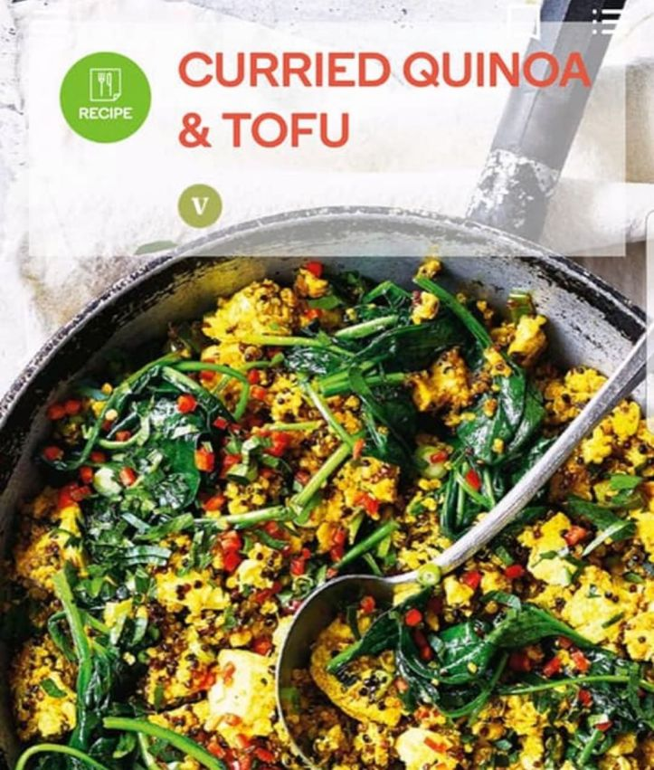 Our market volunteer, Cindy Powell submitted her curried quinoa and tofu recipe to @woolworths_au Fresh Magazine and it's in print for the October issue
