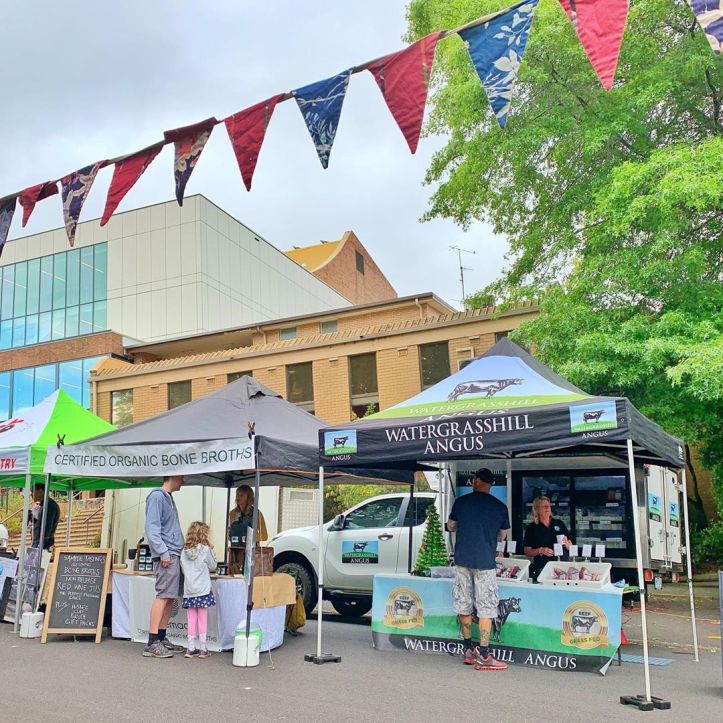 So much produce to choose from at today's Warragul Farmers Market. Located in Civic Place today, right next to the West Gippsland Arts Centre