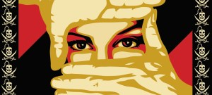 Shepard Fairey's artwork for Internet anti-censorship campaign