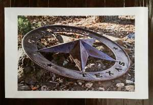 Texas Star - Canvas Only