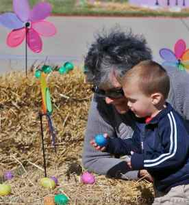 Learning About Easter Eggs With YaYa