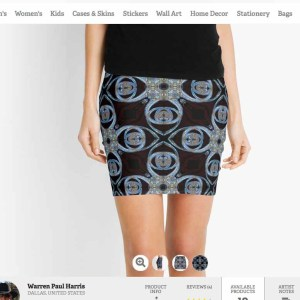 Shiva Vortex Skirt