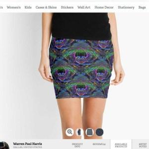 Vortex Hearts in a Tempest Skirt
